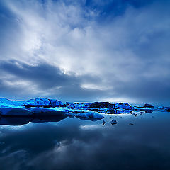 """photo """"Light in The Ice ll"""""""