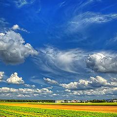 """фото """"Die wunder Wolken"""""""
