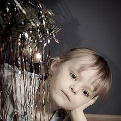 """фото """"Новогодняя грусть (или Вот и прошел Новый Год)"""""""