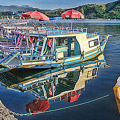 """фото """"Sun and boats"""""""