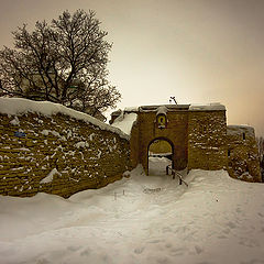 "photo ""In the old fortress."""