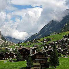 """photo """"Valley of the Matterhorn"""""""