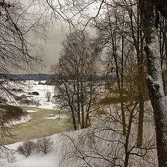 """photo """"Winter in Trigorskoye"""""""