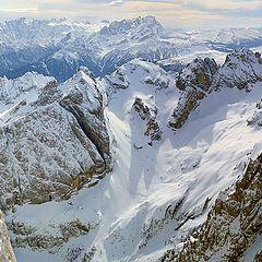 "photo ""Italian Alps. The view from Marmolada glacier"""