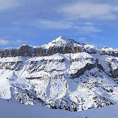 """photo """"Italian Alps. The Gruppo del Sella"""""""