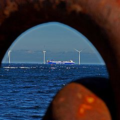 """photo """"With a view to a ship II"""""""