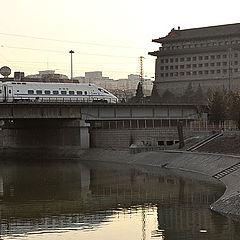 "фото ""Train into Beijing"""