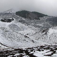 """фото """"Этна зимой"""""""