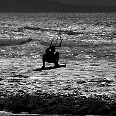 "photo ""Kitesurf"""