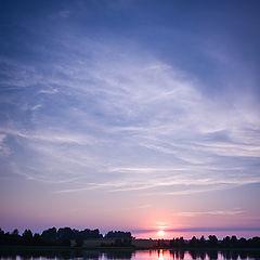 """фото """"Обычный подмосковный закат"""""""