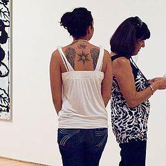 """photo """"В музее с мамой (SF MOMA)"""""""