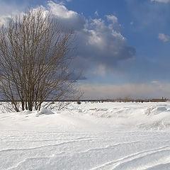 """фото """"Снежный апрель"""""""