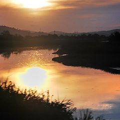 "фото ""Golden River"""