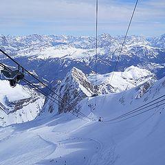 """photo """"Italian Alps. Height 3265m"""""""