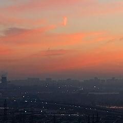 "photo ""Industrial sunrise"""