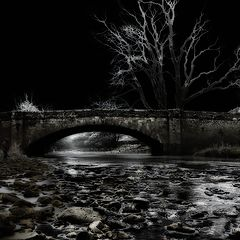 "фото ""moonlight winter river"""