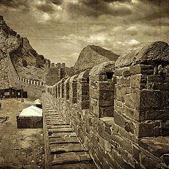 """фото """"Вдоль стены крепостной..."""""""