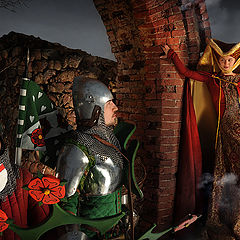 """фото """"Молва о богемской ведьме 02 (история кюрфюрста Йохана Саксонского)"""""""