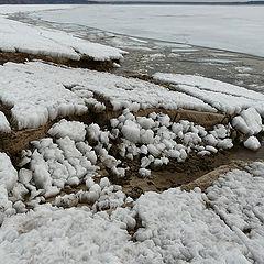 """photo """"melting shore"""""""