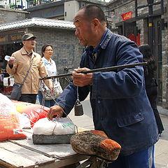 """фото """"Продавец риса."""""""