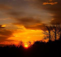 """фото """"Уходящее солнце"""""""