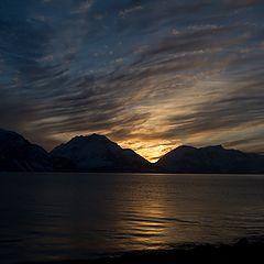"""photo """"Almost midnight sun"""""""