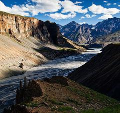 "фото ""Spiti River Valley"""