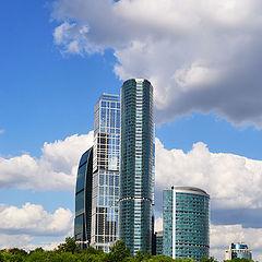 """фото """"Moskow - city"""""""