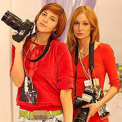 """фото """"девушки в красном"""""""