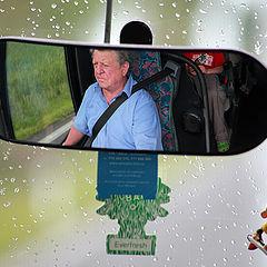 "фото ""Портрет водителя автобуса"""
