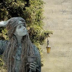 "photo ""Living statue 1"""