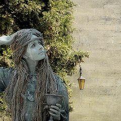 """фото """"Living statue 1"""""""