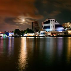 "photo ""Moonlight night over the Artillery bay"""