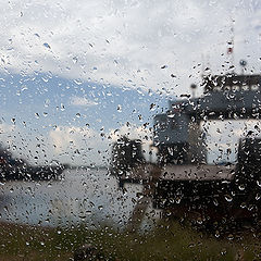 "photo ""Rain on a ferry"""