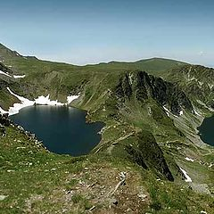 "photo ""The Seven Rila Lakes - panorama"""