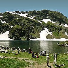 "photo ""Eye Lake, Rila mountain"""