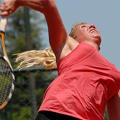 "photo ""Famela tenis player"""
