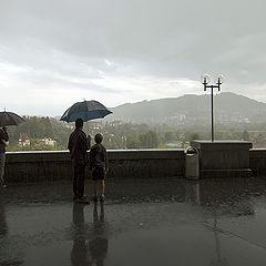 """фото """"Летний дождь в Берне"""""""