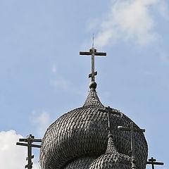 """фото """"Кижи. Серебряные купола"""""""