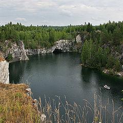 "photo ""Marble quarry Ruskeala"""