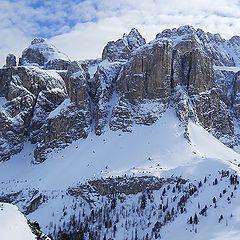 "photo ""Italian Alps. Sella Ronda"""