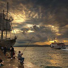 "photo ""morning fisherman"""