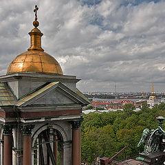 """photo """"Sky over St. Petersburg."""""""