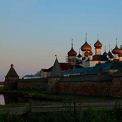 """фото """"Соловецкий монастырь"""""""