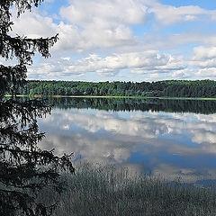 """фото """"Утро на озере Янисъярви"""""""