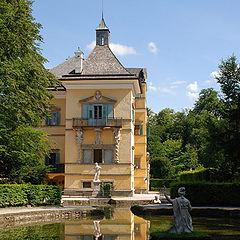 "photo ""Castle Helbrunn  Austria"""