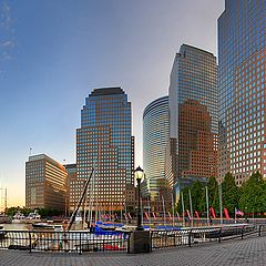 "фото ""Early morning in lower Manhattan"""
