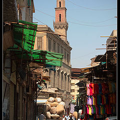 "фото ""Small street of Old Cairo"""