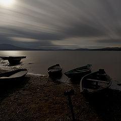 "фото ""ночь на озере Зюраткуль"""
