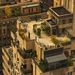 "фото ""Roofs of New York City"""